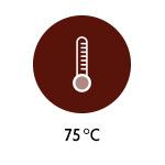 Temperatur - 75 Grad