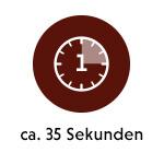 Erste Ziehzeit - 35 Sekunden