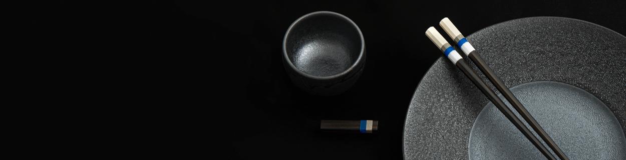 Japanische Essstäbchen aus Holz