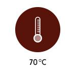 Temperatur - 70 Grad