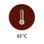 Temperatur - 65 Grad