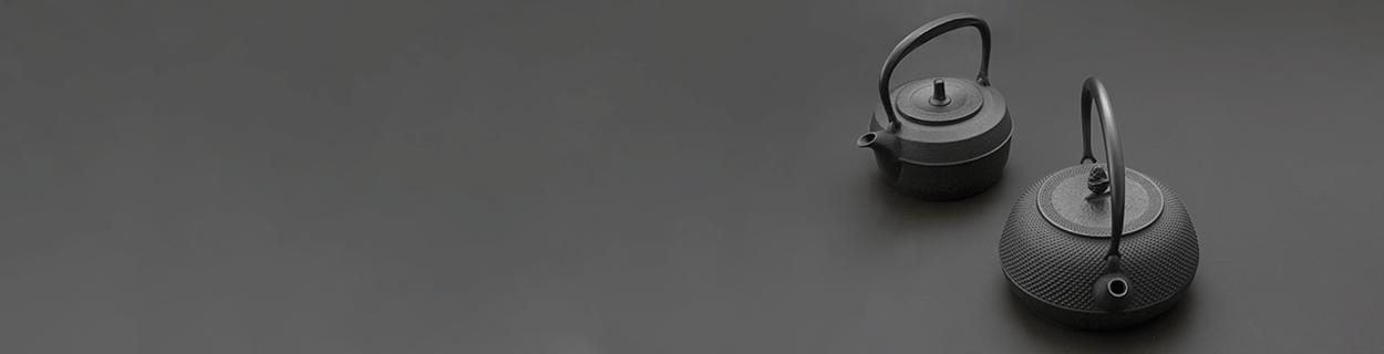 Tetsubin - Gusseiserne Wasserkessel Teekannen