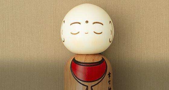 Kokeshi Holzpuppen, japanische Dekofiguren